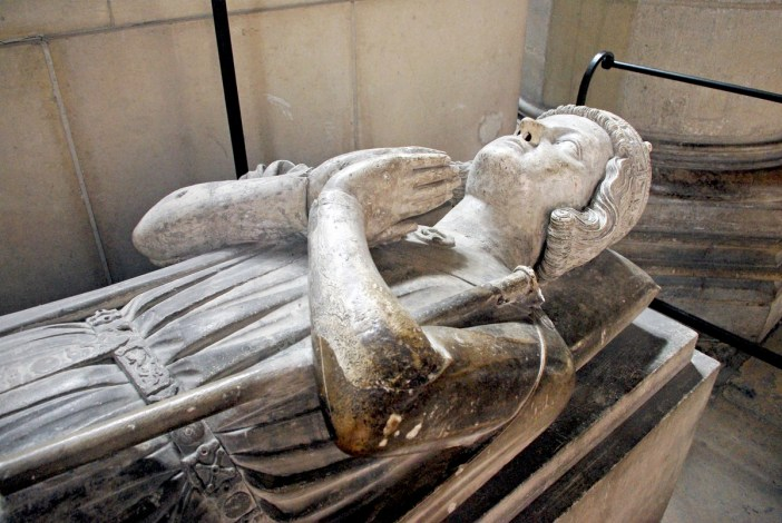 Henry the Young Recumbent Statue in Rouen Cathedral © French Moments