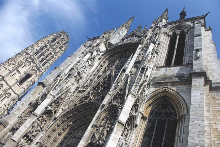 The cathedral of Rouen (Porte de la Calende) © French Moments