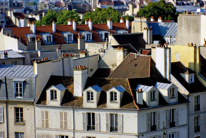 The town seen from the roof of the Saint-Germain-en-Laye castle © French Moments