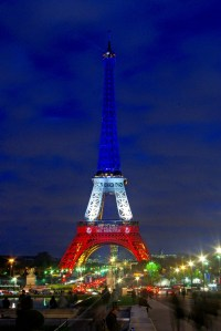 Eiffel Tower Blue White Red 09 © French Moments