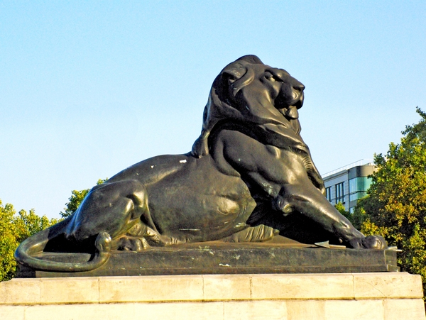 Lion of Belfort in Place Denfert-Rochereau, Paris © French Moments
