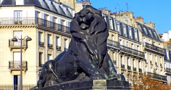 Lion of Belfort in Place Denfert-Rochereau in Paris 03 © French Moments