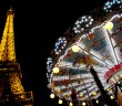 Merry Go Round and Eiffel Tower © French Moments