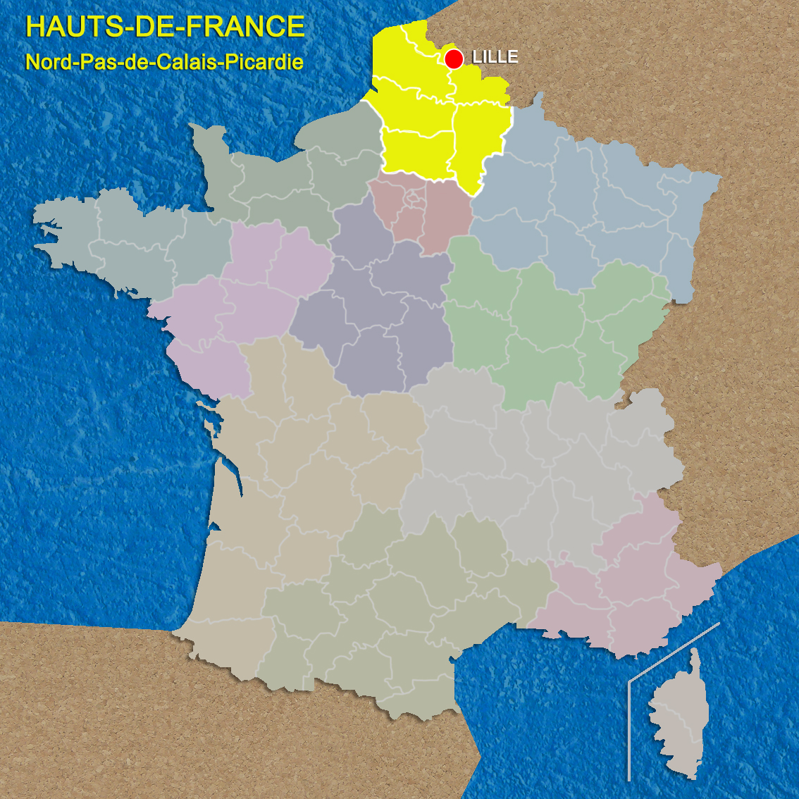 Map Of France Lille Region.A New Name For A French Region Hauts De France French Moments