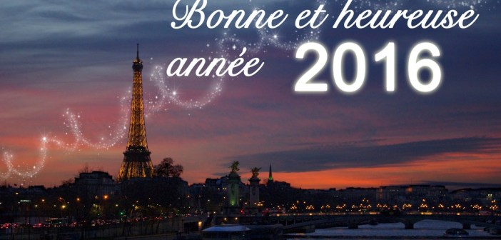Bonne annee 2016 by French Moments
