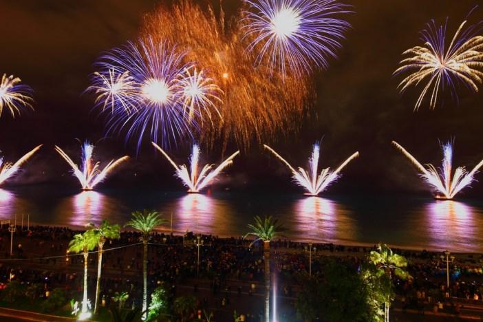 Fireworks, Nice Carnival