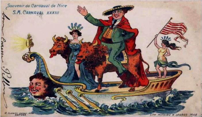 Nice Carnival in 1915 [Public Domain]