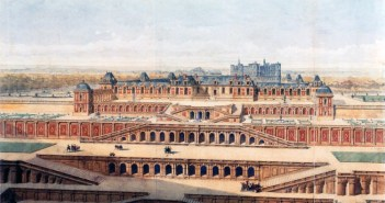 Château-Neuf of Saint-Germain-en-Laye in 1637 by Auguste Alexandre Guillaumot
