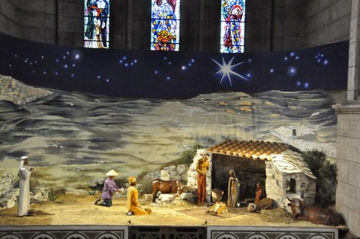 Nativity Scene in Sacré-Cœur © BSCM