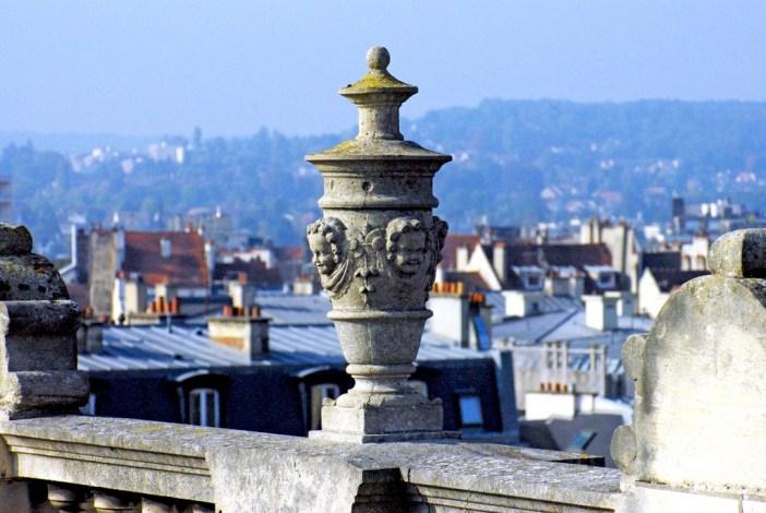 Roof of Saint-Germain-en-Laye castle © French Moments