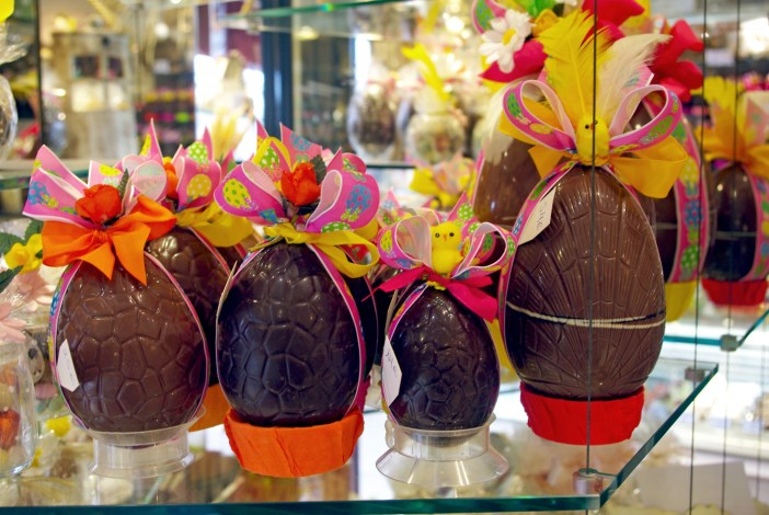 Easter eggs at Bauget in Maisons-Laffitte © French Moments