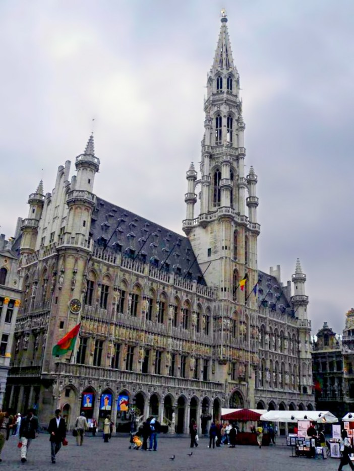 City-Hall and Grand-Place, Brussels