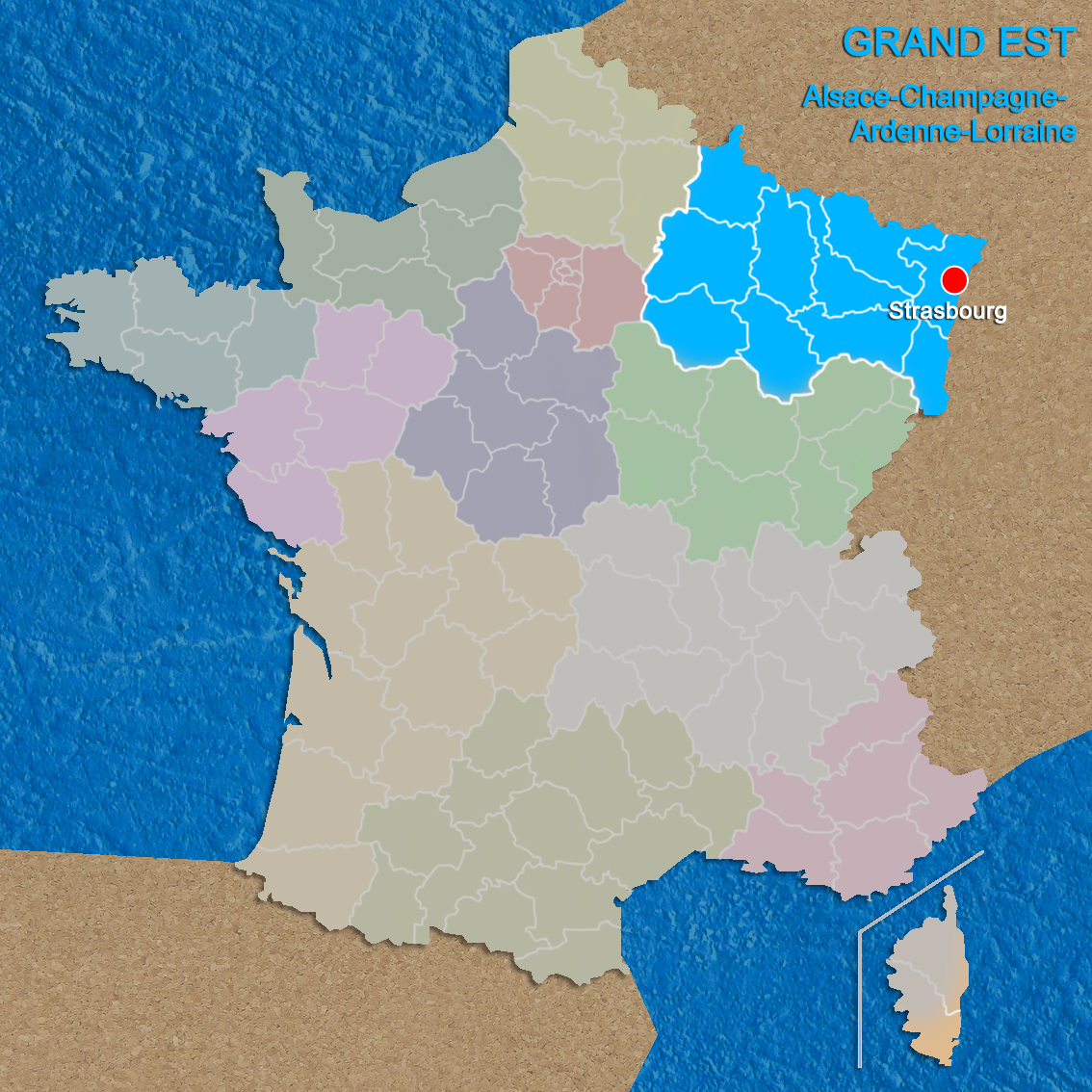 Regions of France Grand Est copyright French Moments French Moments