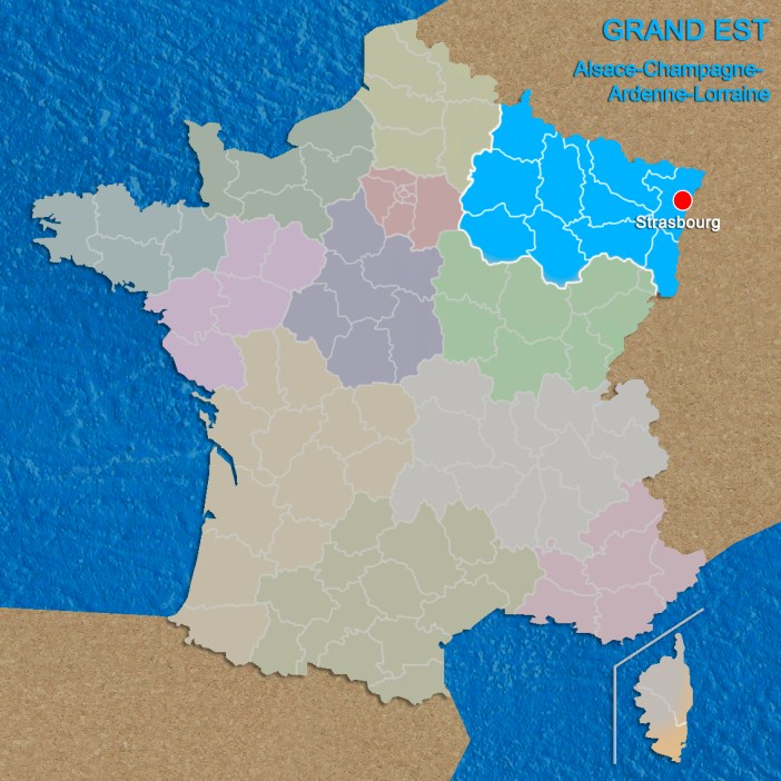 Regions of France Grand Est copyright French Moments