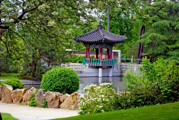 The Seoul Garden in the Jardin d'Acclimatation © French Moments