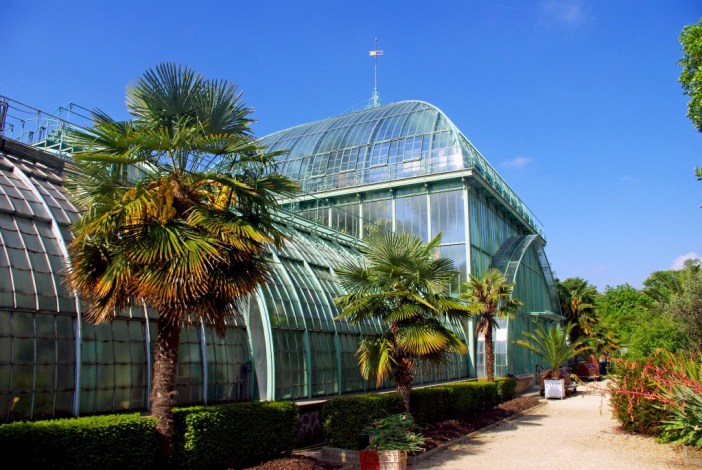 The Palm-House (Palmarium), Jardin des Serres d'Auteuil © French Moments