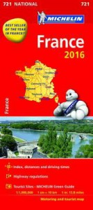 Michelin France Map 2016