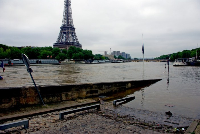 Paris floods on the 4th June 2016 © French Moments