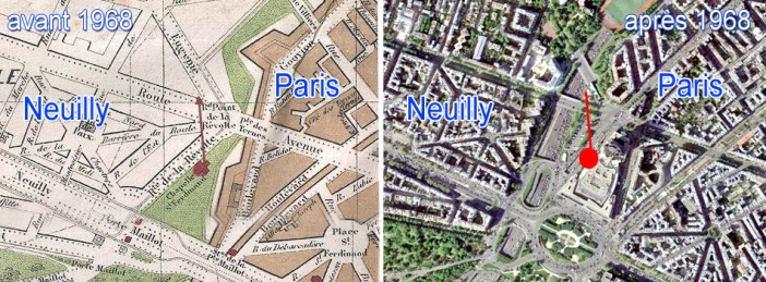 Situation maps of Notre-Dame de la Compassion
