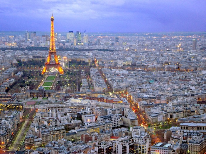 The Eiffel Tower seen from Tour Montparnasse © French Moments