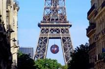 Eiffel Tower place de Mexico