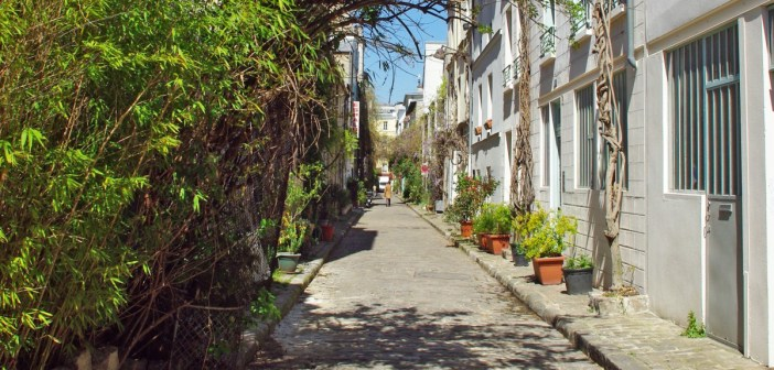 Rue des Thermopyles Paris