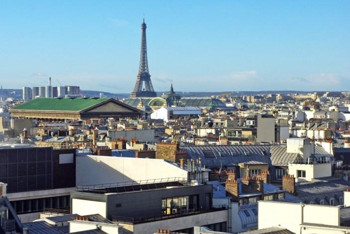 Paris Eiffel Tower Lafayette