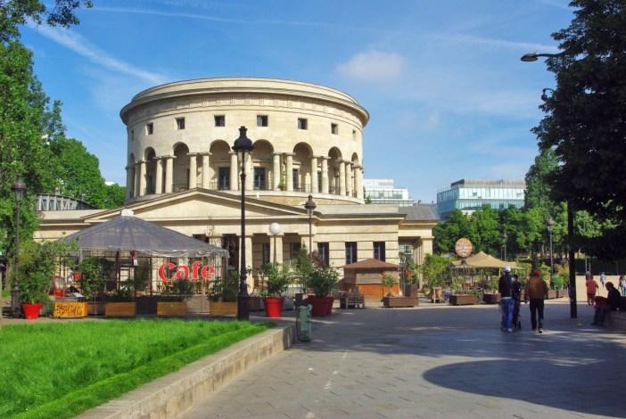 Rotunda at La Villette Paris