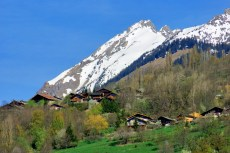 The village of Côte d'Aime in the Tarentaise Valley © French Moments