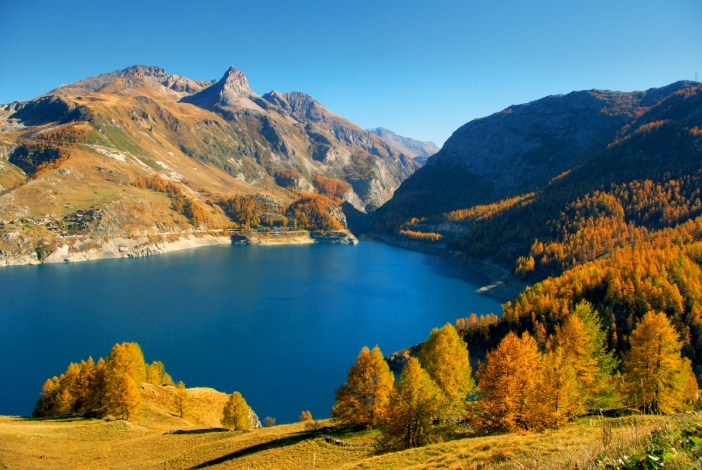Discover the french alps from thonon to nice french moments - Lac du chevril ...