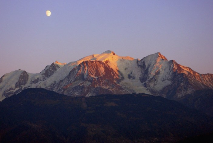 Sunset Mont-Blanc © French Moments