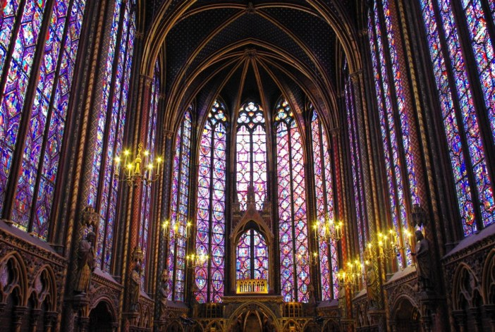 Sainte-Chapelle interior © French Moments
