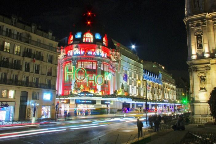 Shopping centres in Paris: BHV Marais © French Moments