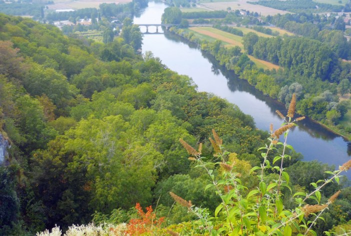 Dordogne from Domme © French Moments