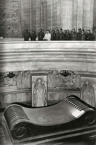 Hitler's visit to Napoleon's Tomb in 1940