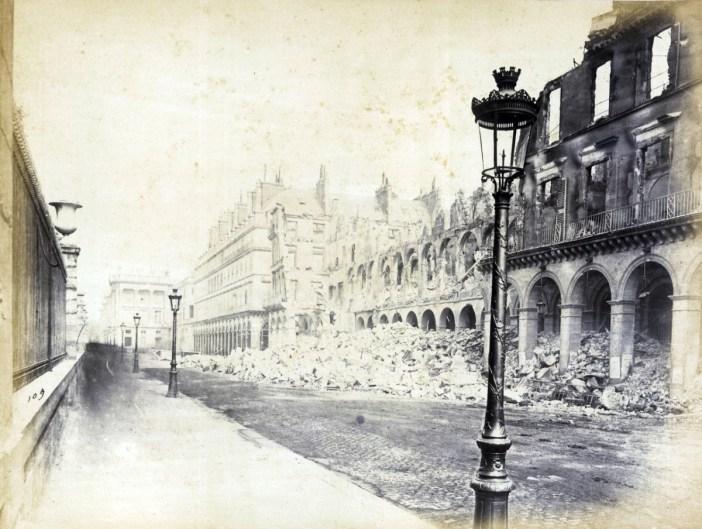 Rue de Rivoli during the Siege of Paris in 1870-71