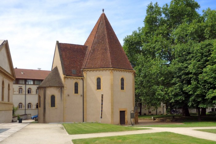 The Templar's chapel Metz © French Moments