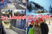 La Plagne Bobsleigh track © French Moments