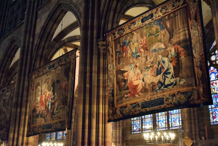 The tapestries of Strasbourg cathedral on display for Christmas © French Moments