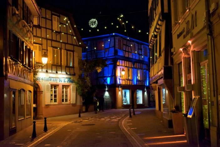 Christmas lights in Wissembourg, Alsace © French Moments