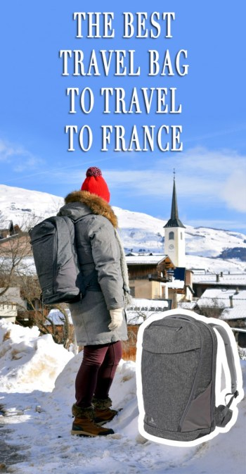 Akra the Arcido, the travel bag to travel to France © French Moments