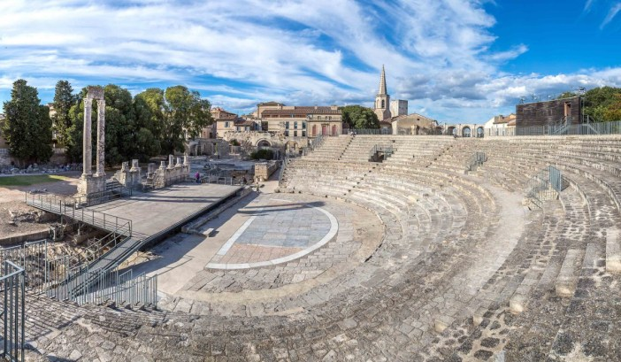 The antique theatre in Arles - Stock Photos from S.F. - Shutterstock
