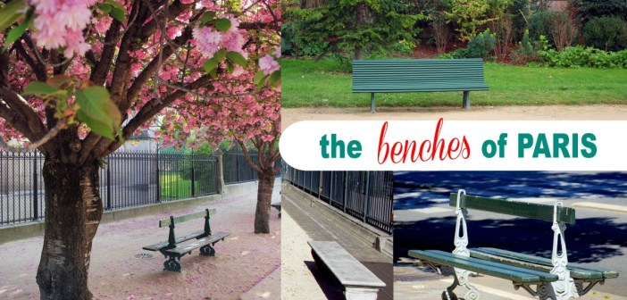 Benches of Paris © French Moments
