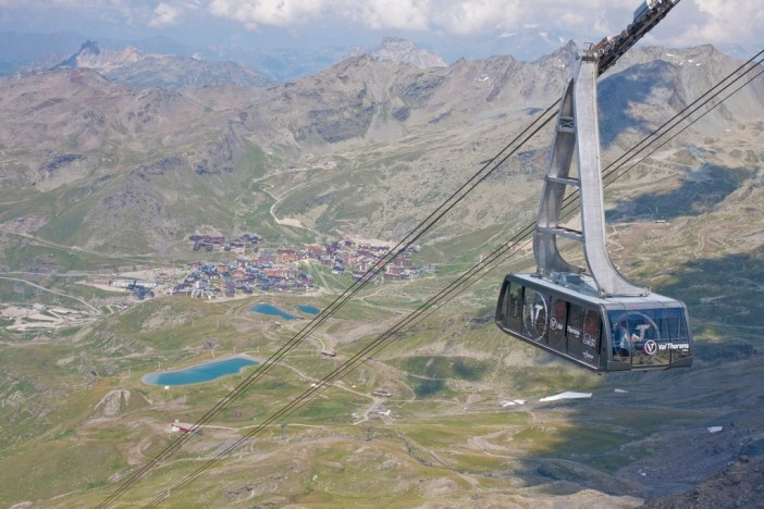 View from the Cime de Caron © C.Cattin OT Val Thorens