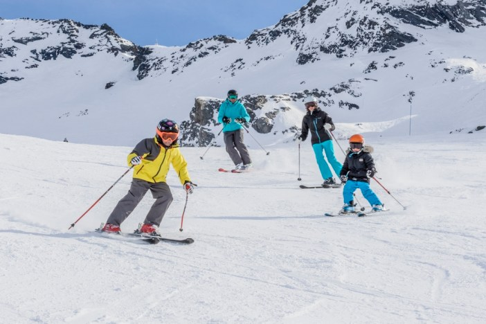 Skiing in Val Thorens © C.Cattin OT Val Thorens