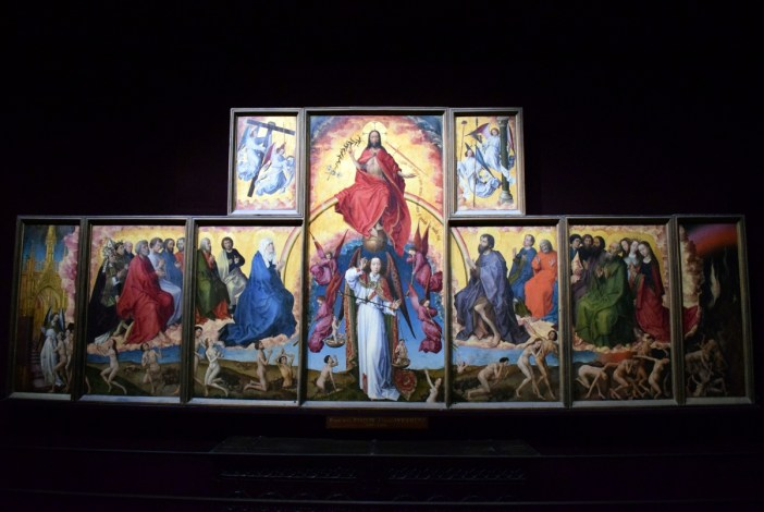 The altarpiece of the Last Judgement by Rogier van der Weyden. Photo by French Moments