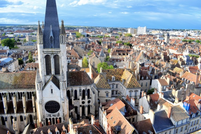 The view from the tower of Philip the Good, Dijon © French Moments