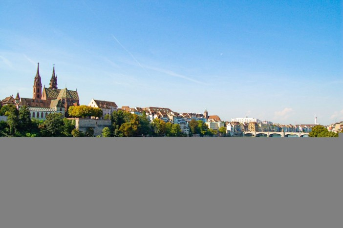 The Rhine in Basel © Norbert Aepli - licence [CC BY 2.5] from Wikimedia Commons