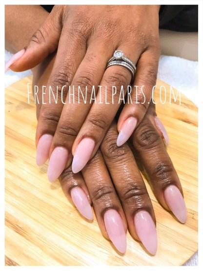 Remplissage résine mains avec vernis semi-permanent