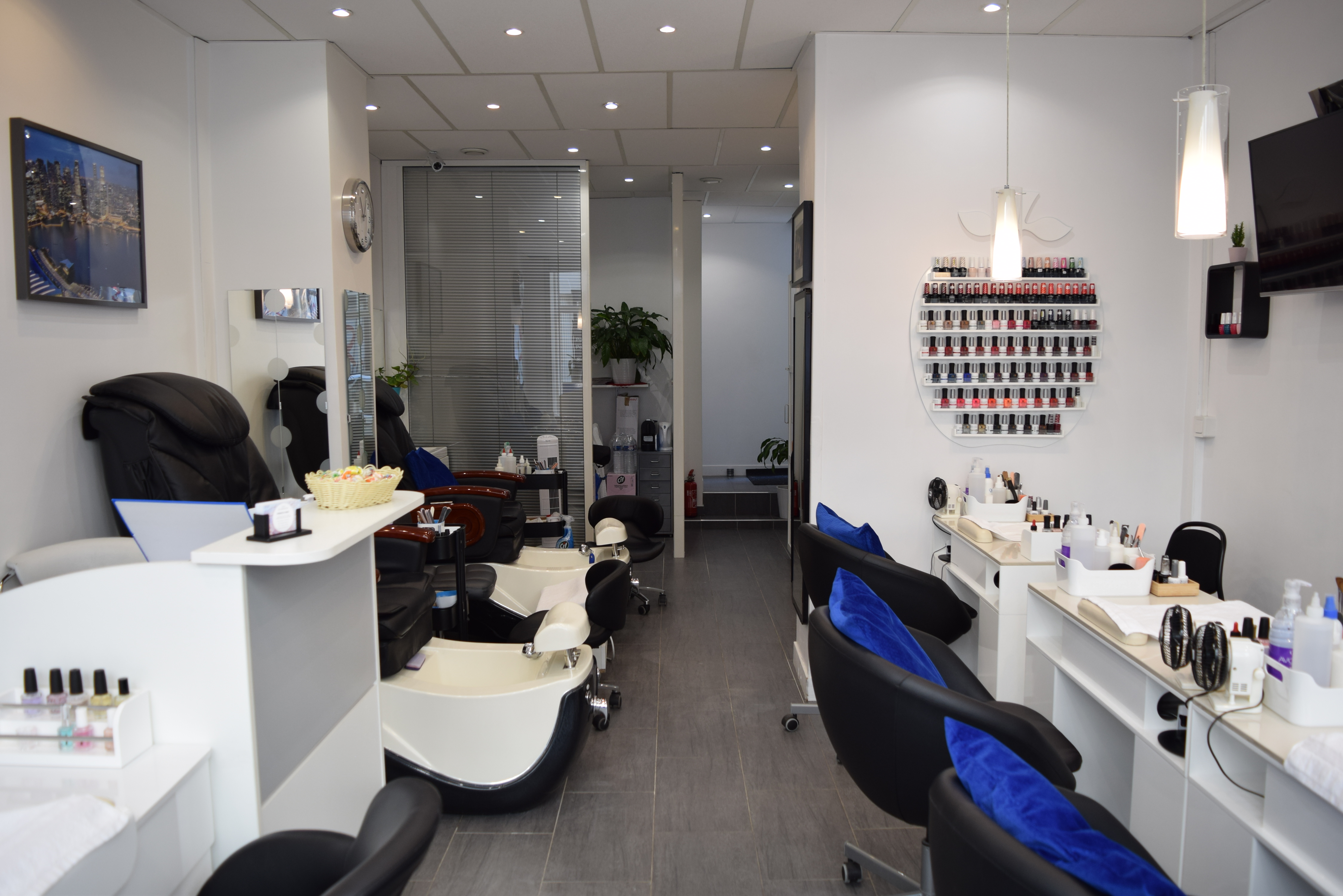 Fauteuils Pedicure Spa Institut French Nail A Paris 15